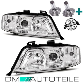 DM Autoteile A6 4B C5 Scheinwerfer SET H7//H7 Facelift 01-05 Birnen Komplett-Set
