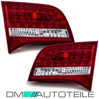 Audi A6 4F Avant LED Rückleuchte Heckleuchten Innen SET