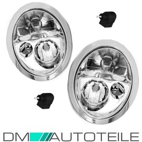 Set BMW Mini Cooper R50 R51 R52 H7 H7 headlights left...