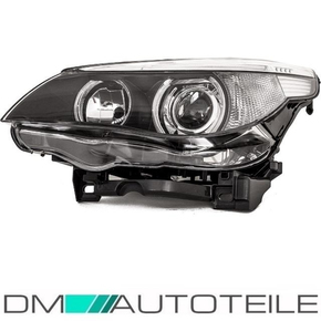 BMW E60 E61 Bi-Xenon headlight left D1S/H7  05-07 without...