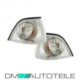 Front Indicators Set  Chrome Cristall fits on BMW E36 Coupe Convertbile Bj 91-99