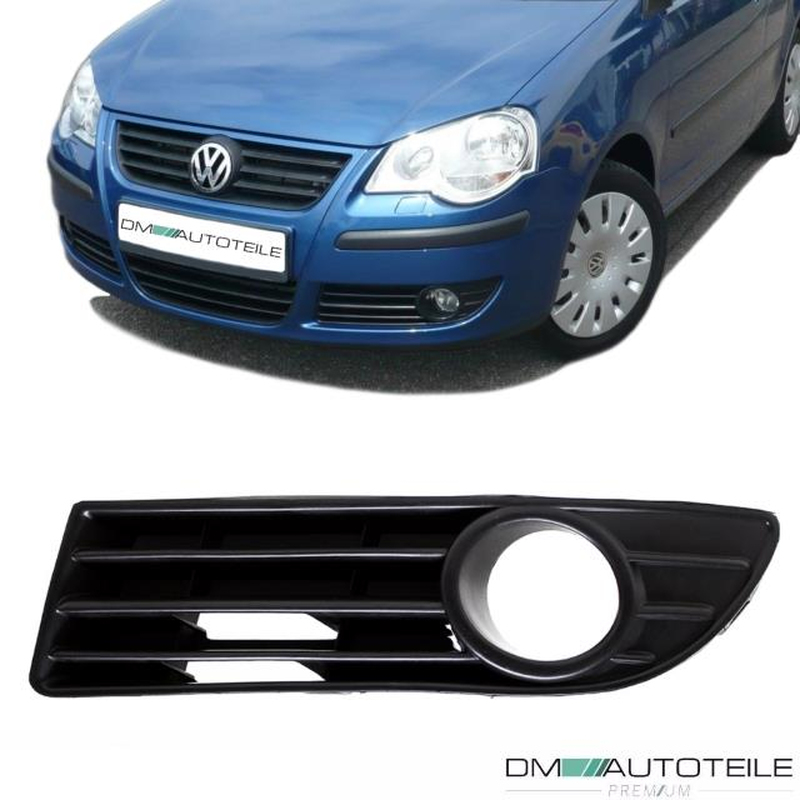 Auto-Tuning & -Styling Stoßstangengitter Frontgrill Set GTI Wabengitter 05-09 Wabengril Für VW Polo 9N3