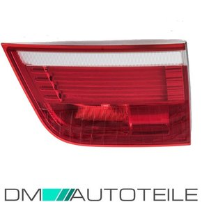 LED rear lights right inner part red white fits on BMW X5...