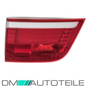 LED rear lights left inner part red white fits on BMW X5...