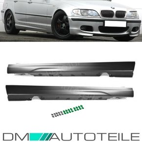 SET SIDE SKIRTS FITS ON BMW E46 SALOON WAGON SPORT...