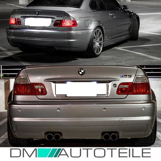 LED RÜCKLEUCHTEN Set Coupe Rot Weiss passt für BMW E46 99-03 nicht M3 Facelift