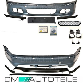 Set Bmw E46 Limousine Stoßstange Bodykit Komplett 98 05 Ohne Pdc