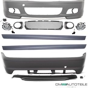 SET COUPE CONVERTBLE BUMPER BODYKIT ABS+Fogs for M-SPORT...