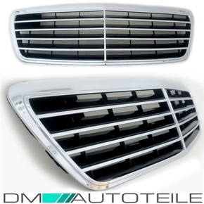 Mercedes E-Klasse W210 Kühlergrill 99-02 Avantgarde Optik...