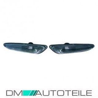 Set Side Indicators Black fits on BMW E46 Limousine Estate 98-05