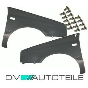 Set VW Golf III left + right wing panel 91-95 square...