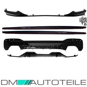 Sport- Performance Kit Gloss Black Spoiler + Diffusor +...
