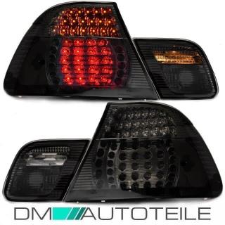 LED Lightbar Heckleuchten Rückleuchten Set BMW E46 Limo Bj 98-01 Schwarz