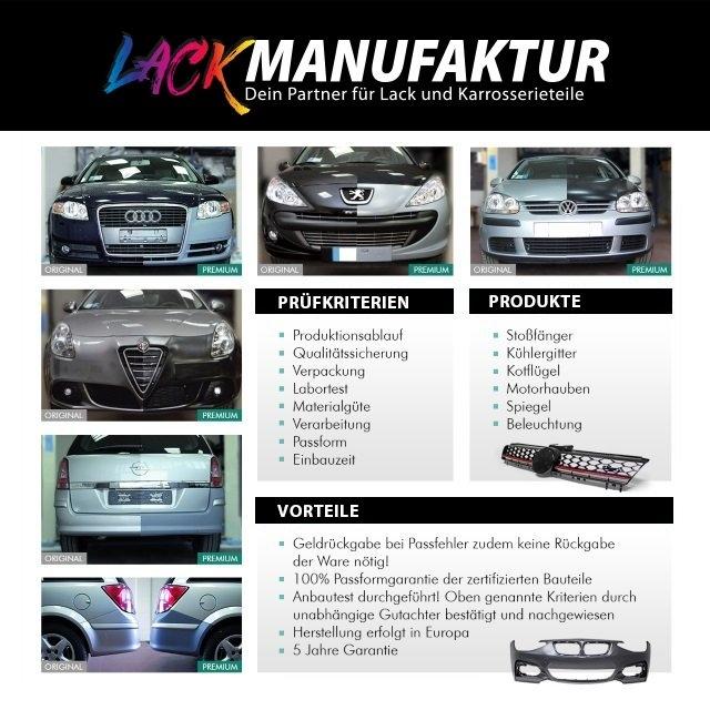 Ford Fusion JU Stoßstange Vorne 2005-2012 ohne PDC ohne SRA LACKIERT Wunschfarbe