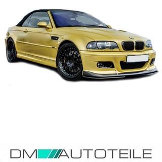 Set Fog Lights Cover Black Fits On Bmw 3 E46 2 3 Doors 98 07 With M Sport Bumper