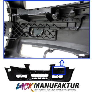 LACKIERT AUDI A3 8P / 8PA Single Frame Frontstoßstange + Montagematerial 03-08
