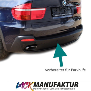 Set BMW X5 E70 Rear Bumper lower Part 07-10 for PDC PAINTED