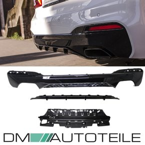 Set PAINTED Diffusor Rear Sport-Performance Black Gloss...