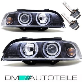 ANGEL EYES HEADLAMPS BLACK XENON+ D2S FACELIFT DESIGN...