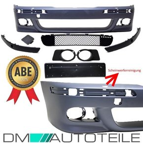 PREMIUM Sport look Front Bumper primed with park assist /...