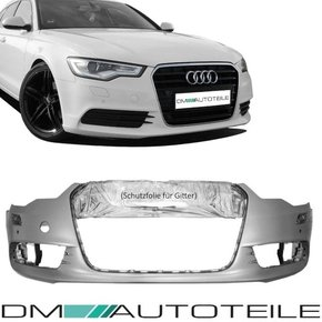 Audi A6 4G C7 Saloon Estate Front Bumper primed 10-14 for...
