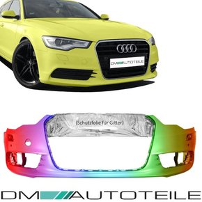 NEW & PAINTED Audi A6 4G C7 Saloon Estate Front Bumper...