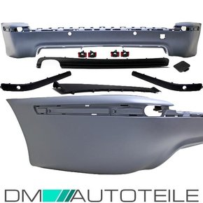 Sport REAR BUMPER primed PDC+DIFFUSOR fits on BMW E39...
