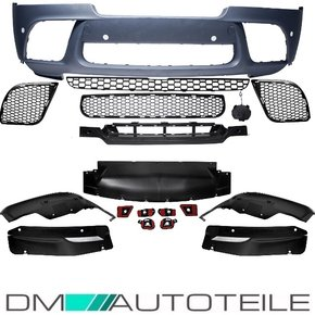 Sport-Sport-Performance Front Bumper for PDC + Spoiler...