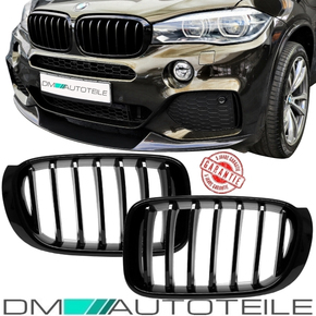 Sport-Sport-Performance Front Grille Set Black Gloss fits...