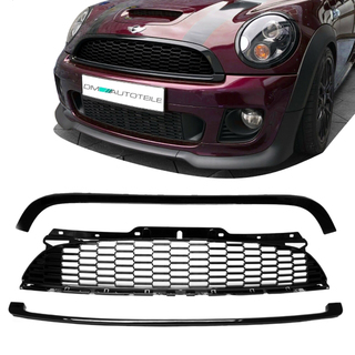 Mini Cooper R56 R57 R58 R59 Front Grille Replacement Set 3 Pcs Year