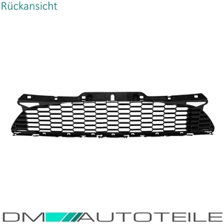 Mini Cooper R56 R57 R58 R59 Front Grille Replacement SET 3-pcs Year 2006-2015 Black Gloss painted
