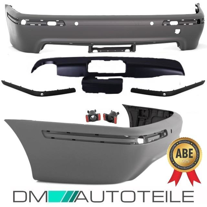 BMW 5er E39 Diffusor mit Deckel für Anhängerkupplung nur Sportpaket