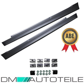 SET SIDE SKIRTS ABS SALOON WAGON + ACCESOIRES FITS ON BMW...