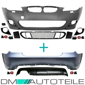 Set Bodykit Front Bumper + Rear w/o PDC primed + Acces....