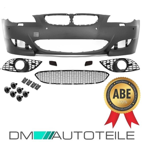 Sport Front Bumper PDC fits on BMW E60 E61 03-07 w/o M5...