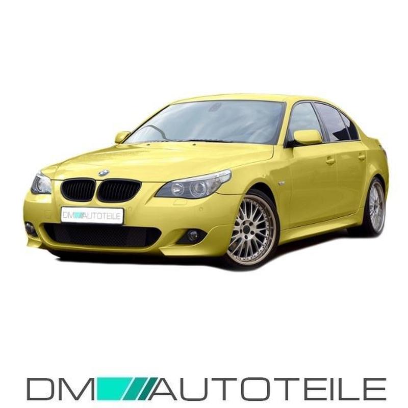 Für BMW 5er E60 E61 Nieren Kühlergrill Sport Front Grill Schwarz M M5 03-10