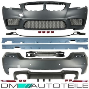 EVO Front Rear Bumper+Skirts ABS Full Bodykit Duplex fits...