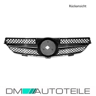 Mercedes CLK W209 C209 Kühlergrill Wabendesign Front Grill Voll Chrom Bj Mopf 05-09
