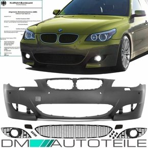 Sport Front Bumper PDC FACELIFT ABS fits on BMW E60 E61...