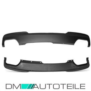 Rear Diffuser Duplex left right fits on BMW F10 F11...