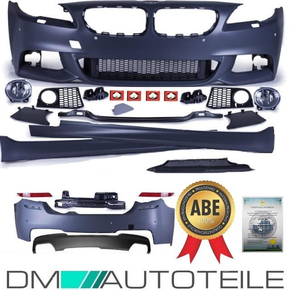 Bumper kit Front Rear Sides Skirts Body Kit + Diffusor...