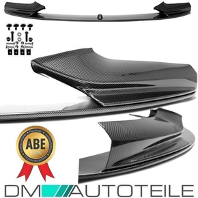 PERFORMANCE Front Spoiler Sport Lip CARBON HIGH GLOSS...