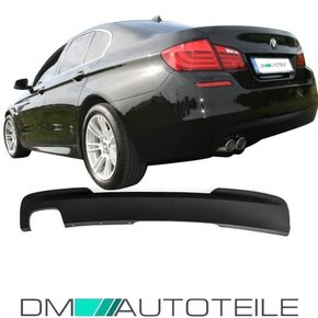 Rear Diffusor 2-Outlet Left Black fits on BMW F10 F11...