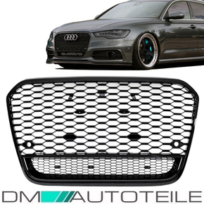 Sport Honeycomb Kidney Front Grille Black Gloss fits on...
