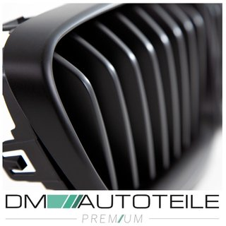 SET Kidney Front Grille Performance Black Matt fits on BMW F22 F23 + M2 235i