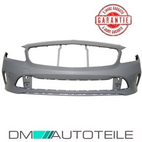 Mercedes A-Class W176 Facelift Front Grille Chrome Black...