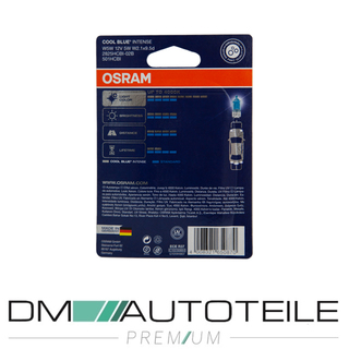 Set 2x OSRAM® W5W 12V 5W Cool Blue Intense 4000K Birnen(SATZ)