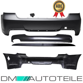 SaloonRear Bumper without park assist fits on BMW E90 up...