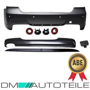 Rear Bumper PDC+ Diffusor fits on BMW E90 Series ABS...