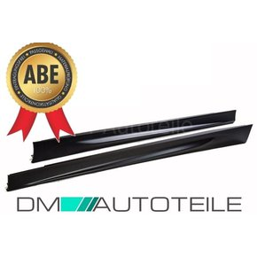 Set Side Skirts fits on BMW E90 E91  Saloon Estate...
